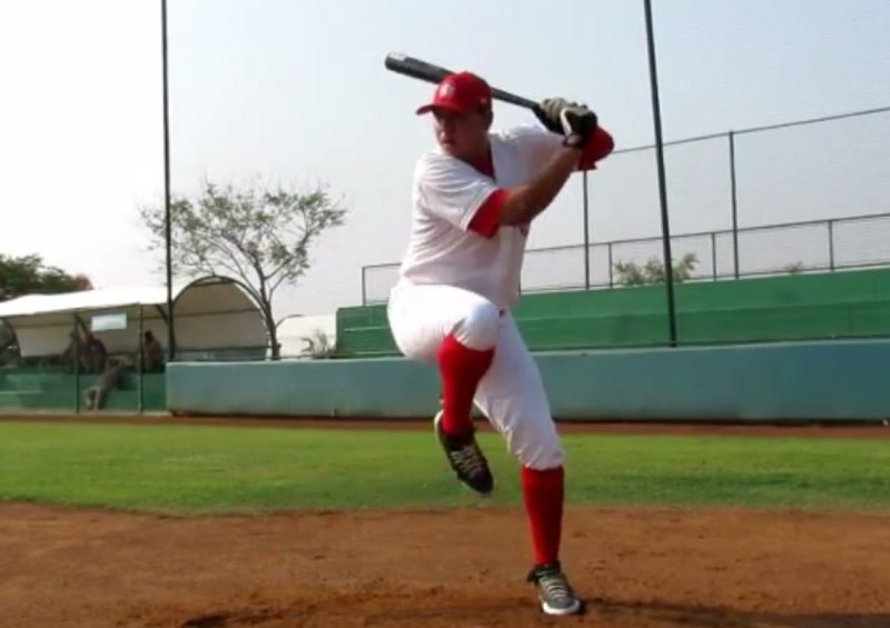 Eric Meza and his leg kick
