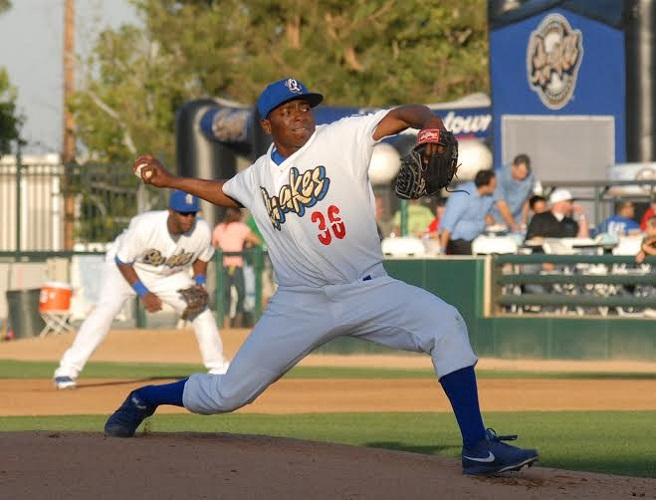 Photo courtesy of Steve Saenz, Rancho Cucamonga Quakes