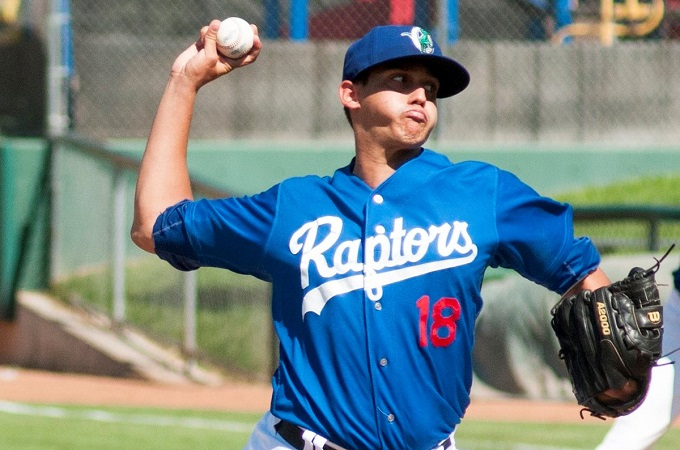 Jose De Leon (Photo courtesy of the Ogden Raptors)