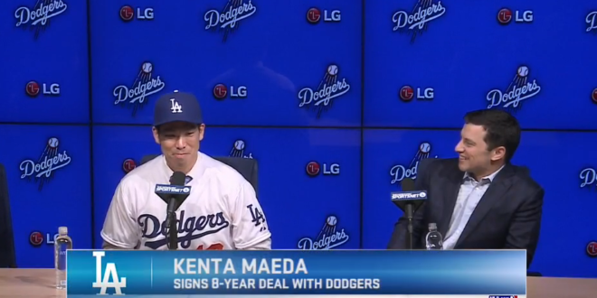 kenta maeda appears worth  injury risk    friendly contract dodgers digest