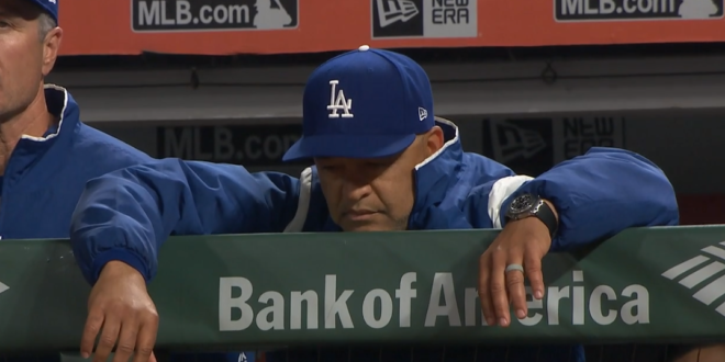 OOTP 21: April 3, 2020 – Giants 5, Dodgers 3 – Fire Dave Roberts! - Dodgers Digest