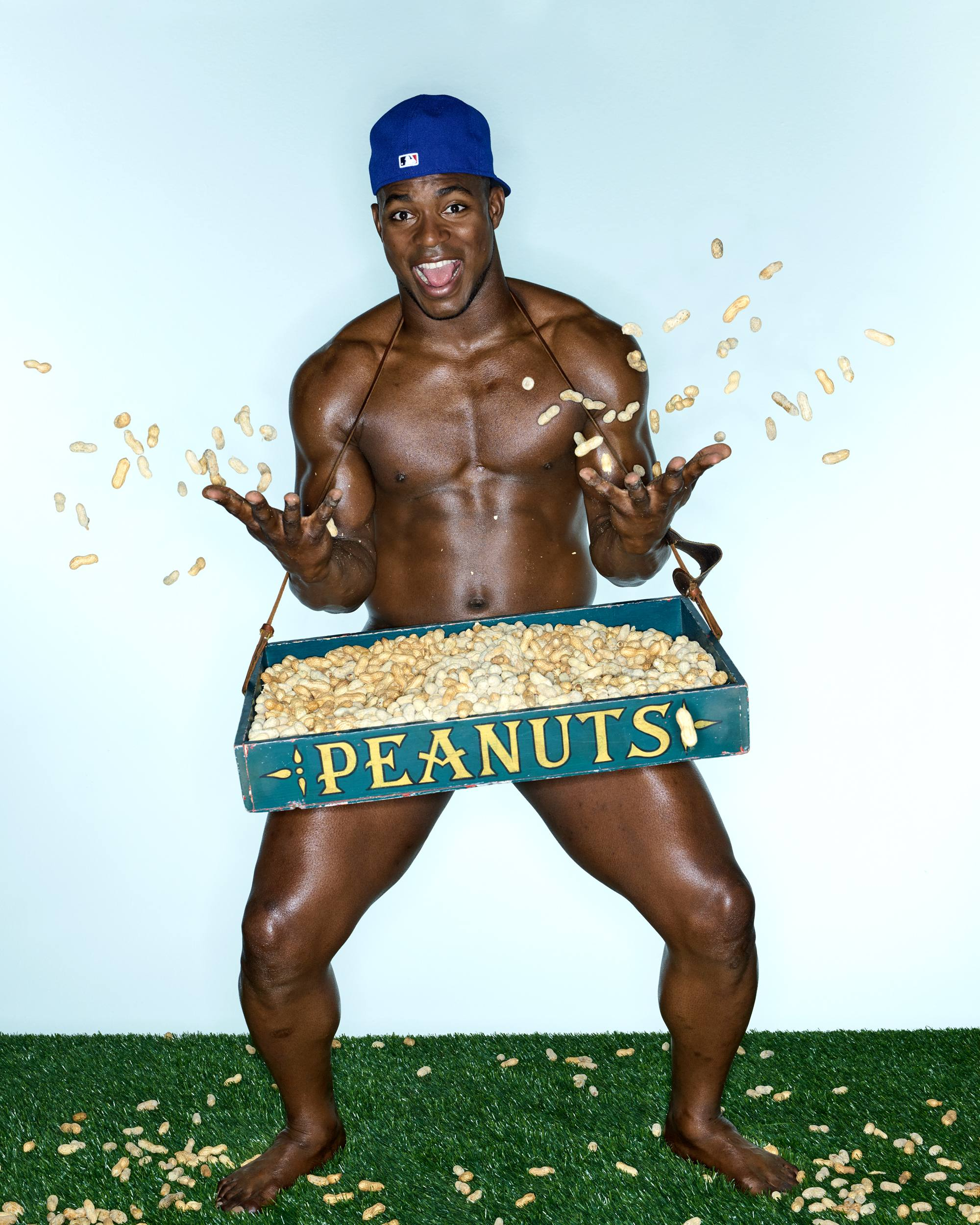Yasiel Puig makes a glorious appearance in ESPN The Magazine's The Body Issue – Dodgers Digest