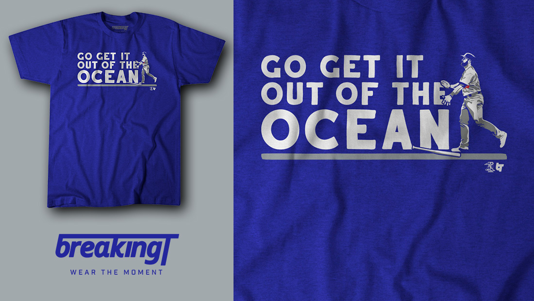 outlet store sale c2985 97d82 The Max Muncy 'Go Get It Out Of The Ocean' shirt is here ...